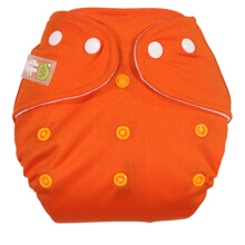 Clodi Popok Kain Bayi Little Hippo Eco - Color Orange