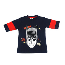 KIDS ICON - Kaos Anak Laki-laki Batman Black T-Shirt with Full Printing Batman Character - BM302900180