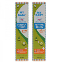 [free ongkir]My Baby Minyak Telon Plus 150 ml - 2 Pack