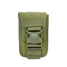 TOWER PRO Outdoor Sports Waist Bag Double-layer Mobile Phone Pocket Tactical Pouch Black