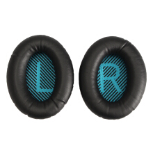1 Pair Black Replacement Headphone Ear Cushion Earpads Cover Pad for Bose QC25