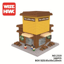 Bricks Wise Hawk 2319 The Coffee Shop Brown