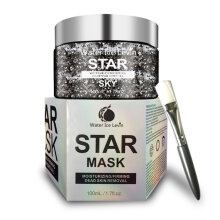 [COZIME] 100G Starry Sky Face Mask Facial Care Blackhead Remover Firming Skin Masks Black