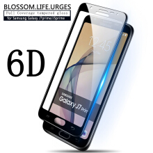 Sentum Samsung Galaxy J7 Prime 6D full coverage tempered glass Black
