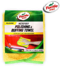 Turtle Wax Microfiber Polishing & Buffing Towel Twa 119 Warna Kuning Size 40x40 cm