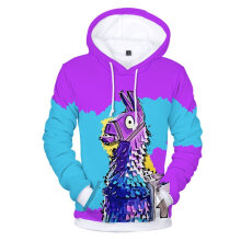Sweatshirt Personalized 3D Digital Print Loose Hooded Pullover Shirt E multicolor XXS