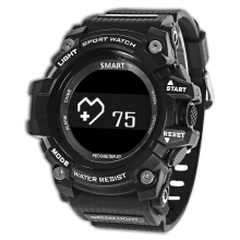 Zeblaze MUSCLE HR Smartwatch Bluetooth 4.0 IP68 Waterproof Remote Camera Sleep Monitor Sedentary Reminder Pedometer BLACK