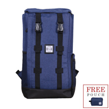 TheXWoof Tas Ransel Tas Hiking. Tpack-H Blue Dark Blue