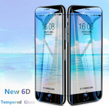 Sentum Apple iPhone 6 Plus/6s Plus 6D full coverage tempered glass Black