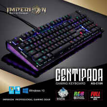 Keyboard Gaming Imperion Centipada KG-C10R Mechanical, RGB