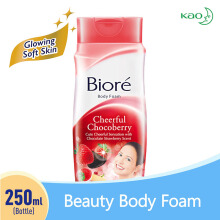 BIORE Body Foam Cheerful Chocoberry Botol 250 ml