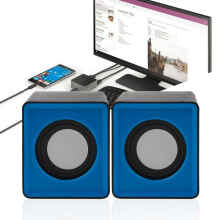 KUKE Speaker Komputer PC Laptop Notebook USB Mini Multimedia Warna Multicolor