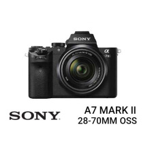 Sony A7 Mark II Kit FE 28-70mm F/3.5-5.6 OSS Black