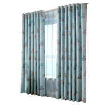Farfi Living Room Bedroom Owl Printing Pattern Blackout Shade Curtain Window Decor