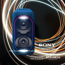 Sony GTK-XB90 High Power Portable Audio System with Bluetooth - Blue