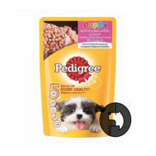 PEDIGREE 130 gr puppy chicken chunks in sauce