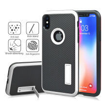 DELIVE Case For iPhone X Shock Proof TPU Protective Hard Cover