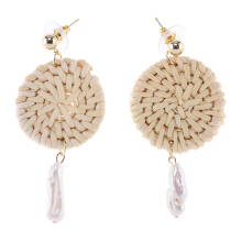 VOITTO Earrings - M2 Rattan