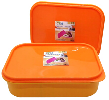Moniva Lunch Box Set of 2 pcs Orange