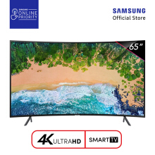 SAMSUNG UHD 4K Curved Smart LED TV 65 Inch - UA65NU7300 [SAMSUNG ONLINE PRIORITY]