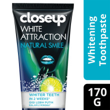 CLOSE UP Pasta Gigi White Attraction Natural Smile 170gr