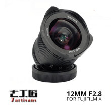 7Artisans 12mm F/2.8 For Fuji X-Series Mount Black