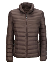 TUMI Clairmont Packable Travel Puffer Woman - Mink