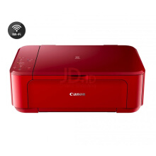 CANON MG3670 Multifunction All In One Printer (Print, Scan, Copy) - Red