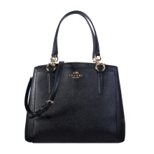 Coach Women's Black Leather Tote F57847IMBLK