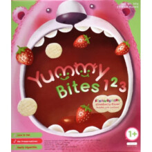 Yummy Bites for Toddler 123 Strawbearry 12M+ - Strawberry