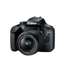 Canon EOS 3000D Kit EF-S 18-55mm f/3.5-5.6 III Black