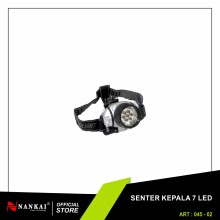 NANKAI Senter Kepala / Head Lamp 7 LED