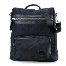 HUER Bessy 3 Ways Quilted Backpack 9476-003 Navy