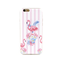 Paroparoshop - Soft Case Plumeria Flam Case for Apple iPhone