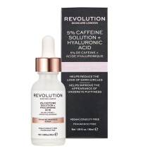 Makeup Revolution Skin Targeted Under Eye Serum - 5% Caffeine Solution + Hyaluronic Acid Serum  (30ML) Others