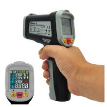 Mustool® MT6800 Digital LCD Color Display Non Contact Infrared Laser Thermometer Temperature Gun