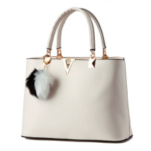 SiYing fashion V word sweet lady shoulder diagonal ladies handbag