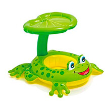 INTEX Froggy Friend shaded Baby Float 56584NP