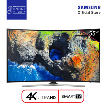 SAMSUNG LED TV 55 Inch Curved Smart Digital UHD - 55MU6300 [SAMSUNG ONLINE PRIORITY]