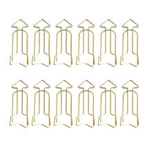 xzante Multifunction 12 Pieces Creative Metal Binder Clips Creative shape Paper Clips for Office Accessories Bookmarks