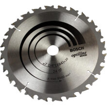 BOSCH Saw Blade Optiline Wood 7 inch 24T 852