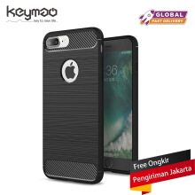 Keymao Apple Iphone 6/6S Case Soft TPU Silicon Full Protect Cover Black
