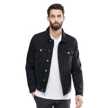 STYLEBASICS Unisex Denim Jacket - Black