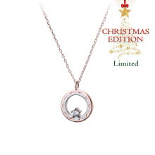 Korea Cocoa Jewelry O'Holy Christmas  - Kalung Rose Gold