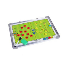 [LESHP] Aluminum Alloy Magnetic Football Tactic Board Set Coaching Training Board Multicolor