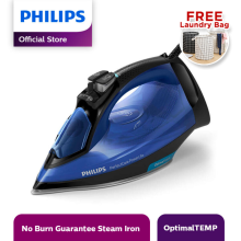 PHILIPS Setrika Uap Optimal Temp GC3920 - Biru