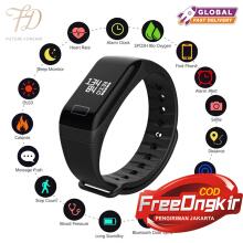 PEKY F1 SmartBand Heart Rate Blood Pressure Monitor Call Reminder Fitness Tracker Waterprooffor iOS Android
