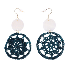VOITTO Earrings - V38 Teal green
