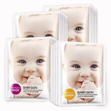 OneSpring Baby Skin Brightening Smooth Skin Care Eye Face Mask  Essence Tender
