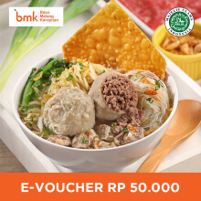 Baso Malang Karapitan - Voucher Value Rp 50.000
